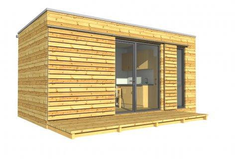 Modulový dům 6x3 m