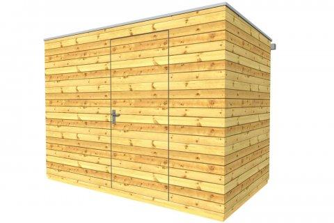 Dřevěný zahradní domek 3x2 m