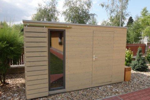 Zahradní domek na nářadí 4x2 m